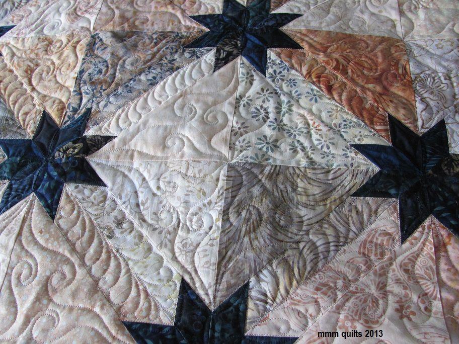 mmm quilts: Hunter Star variation