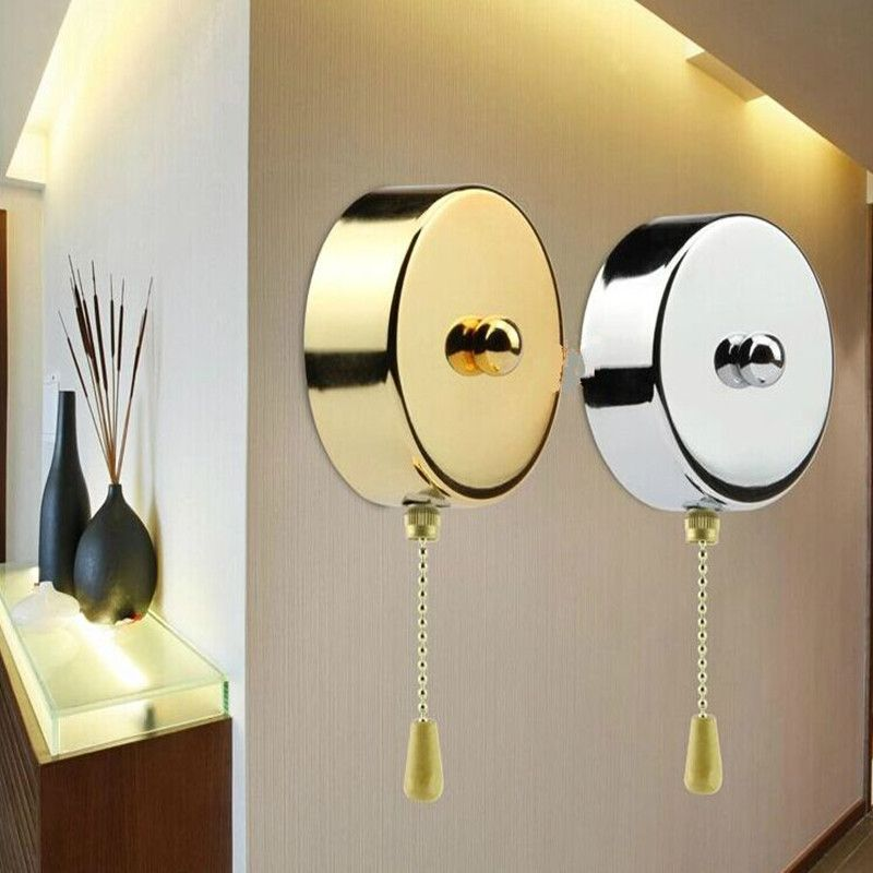 Convenient Ceiling Fan Light Wall Light Bedside Lamp Replacement Pull Cord Chain Switch Ceiling Fan With Light Wall Lights Ceiling Fan