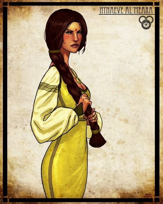 Nynaeve Al'Meara Images by John Seamas Gallagher - A Wheel of Time Wiki