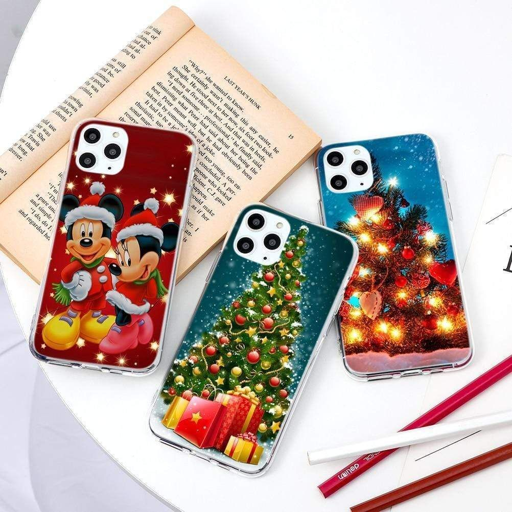 Cartoon Merry Christmas Tree Thin Tpu Soft Cases In 2020 Iphone Cases Phone Case Sale Case