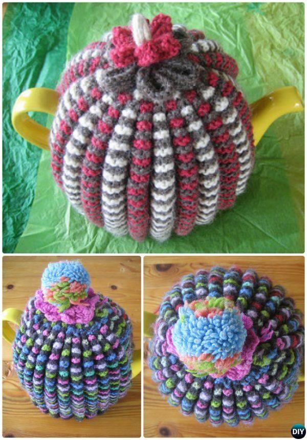 Knit Grannies Traditional Tea Cosy Free Pattern 20 Crochet Knit Tea