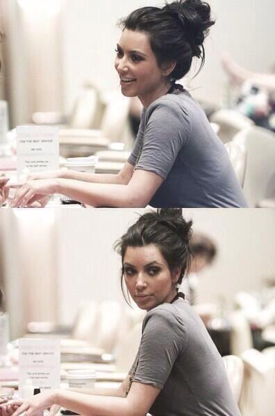 Quand on voit la fille qu'on aime pas ..