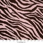 Satin Zebra Pink on Brown