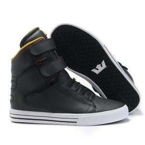 7d045847d11 Ladies Supra Shoes Tk Society Black Womens High Tops Sneakers ...