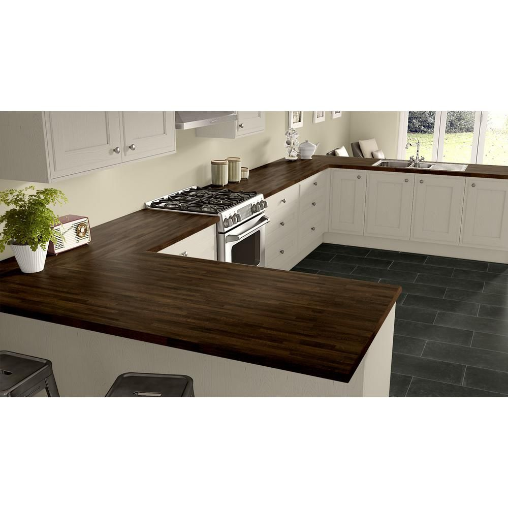 Wilsonart 5 Ft X 12 Ft Laminate Sheet In Old Mill Oak With Premium Softgrain Finish 7973k1235060144 The Home Depot Laminate Kitchen Countertops Laminate Countertops