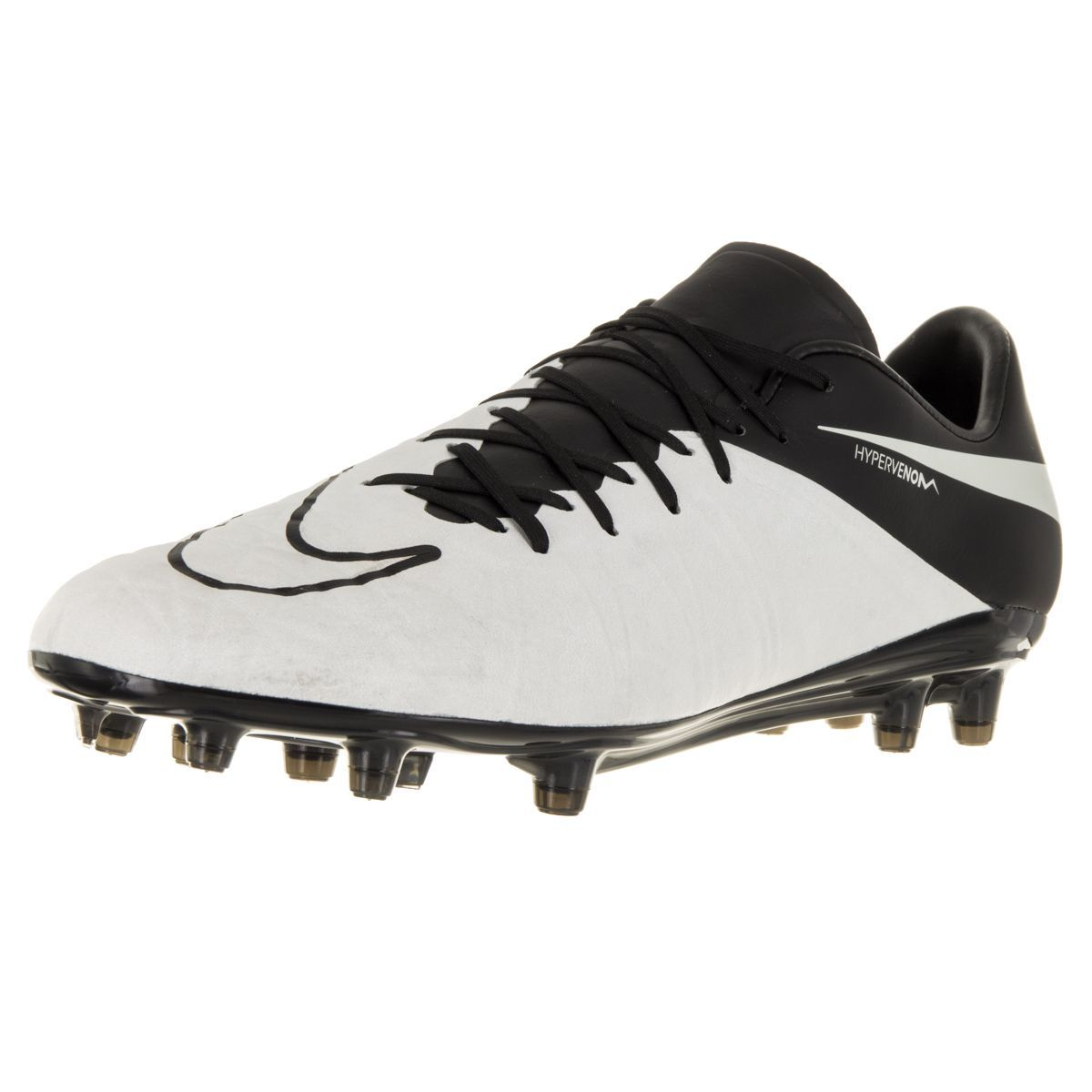 official photos 99482 f17f7 Nike Men s Hypervenom Phinish Lthr Fg Light Bone Light Bone Black Black  Soccer Cleat