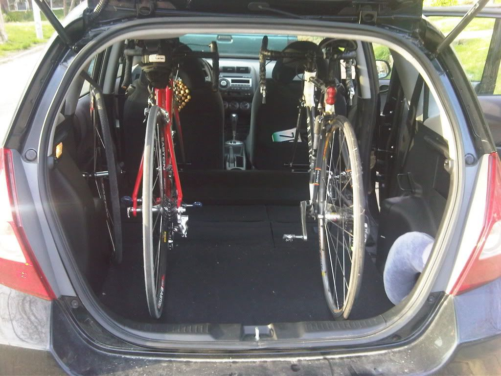 Honda Fit Bikes What Can Fit In Your Honda Fit
