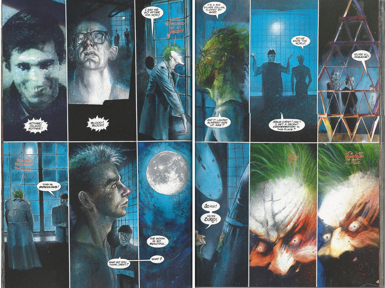 Arkham Asylum Comic Google Search Dave Mckean Mckean Arkham