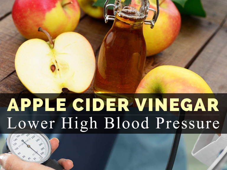 How to Use Apple Cider Vinegar to Lower High Blood