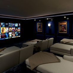 Cinema Media Rooms Sona