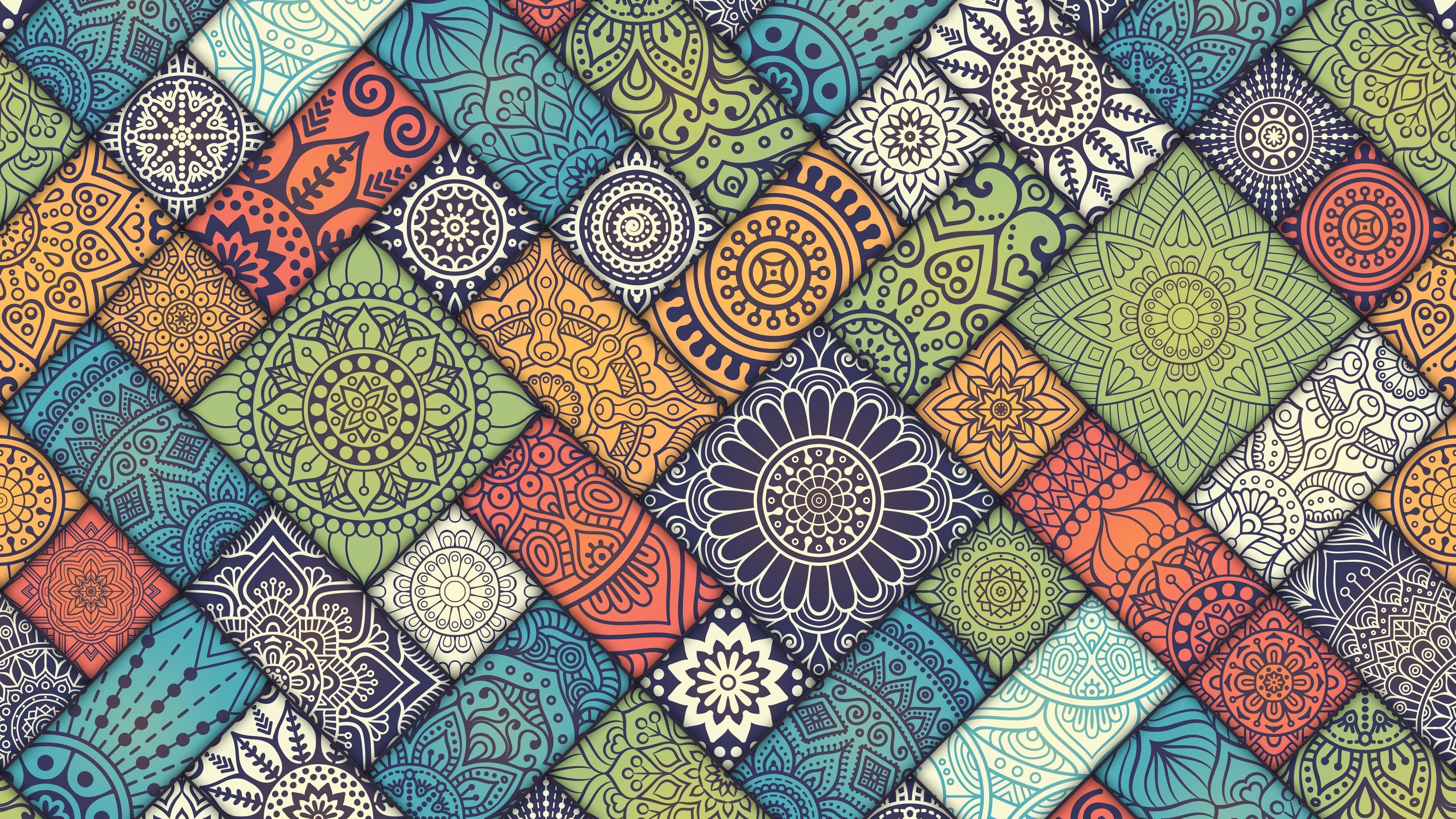 Mandala Pattern Abstract 5k Pattern Wallpapers Mandala Wallpapers Hd Wallpapers Digital Art Wall In 2020 Mandala Wallpaper Mandala Pattern Phone Background Patterns
