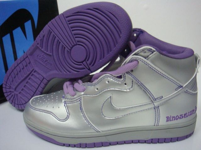 best authentic c06df b5719 nike dunk shoes for women. Silver and purple jordans