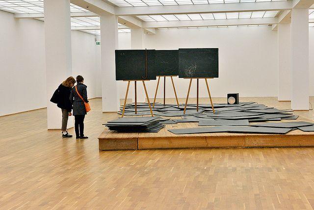 Joseph Beuys    Joseph Beuys at Hamburger Bahnhof - Museum für Gegenwart - Berlin. Photo: Anders Löwdin
