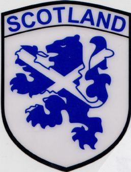 "SCOTLAND FLAG  2 1//2/"" Iron On Patch Flags Symbol"