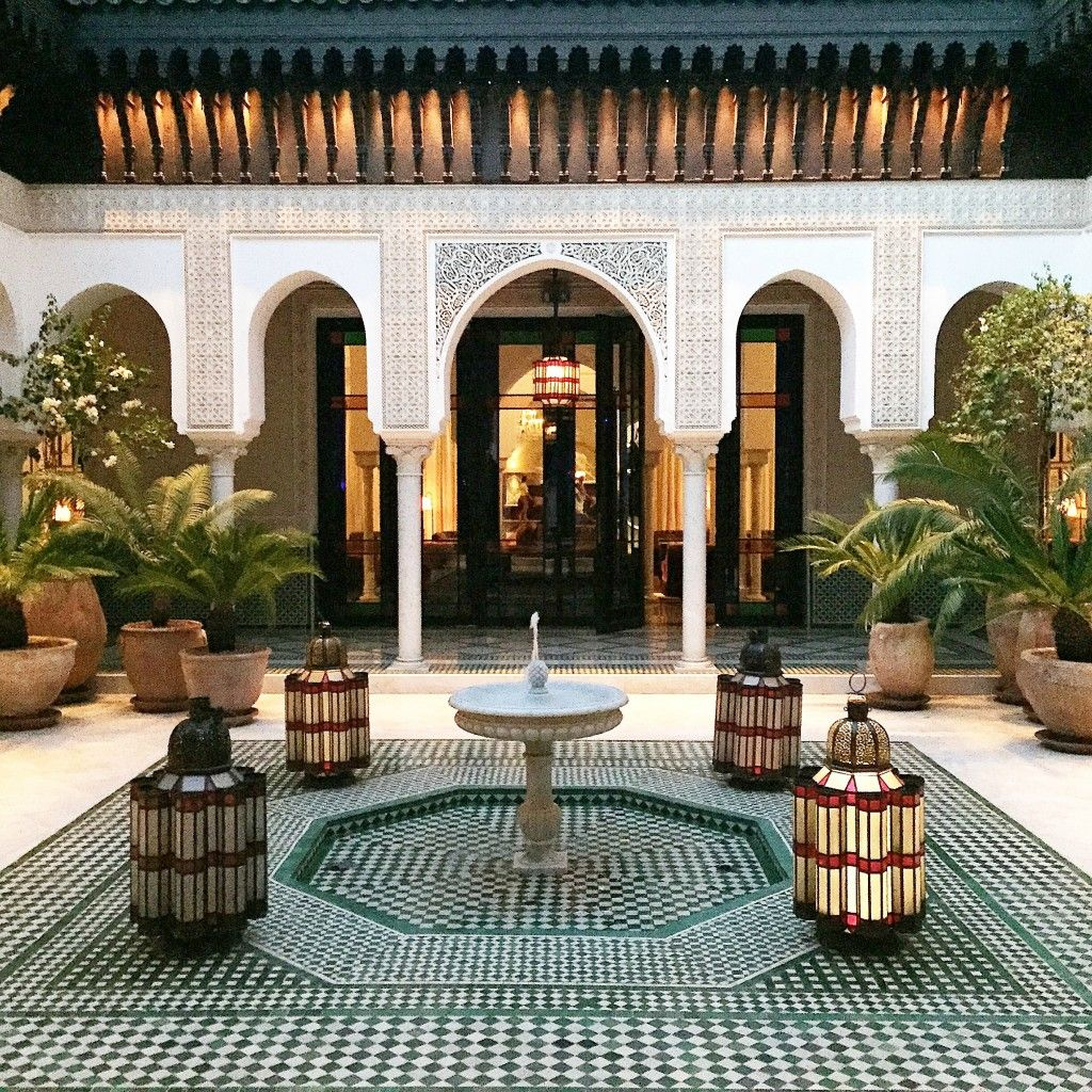 A relaxing spa day at la mamounia hotel marrakech for Design hotel marrakech