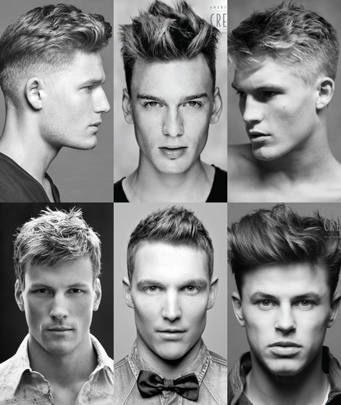 men's hairstyles point cut technique