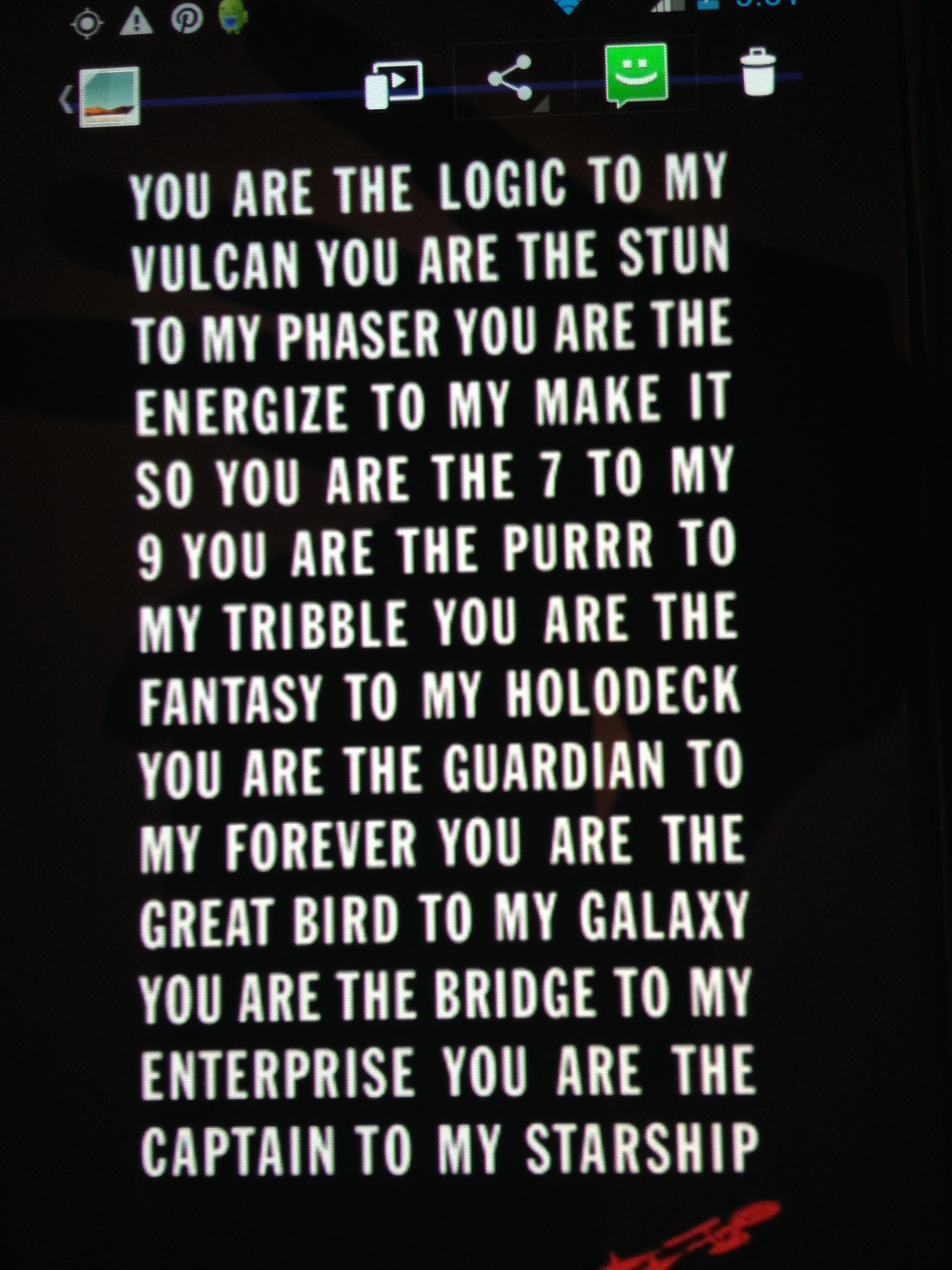 Pin by LexiLuna on Quotes | Pinterest | Star trek, Trek and Fandom