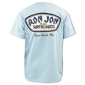 Ron Jon Custom Surfboard Pocket Tee Cocoa Beach Mens T Shirts