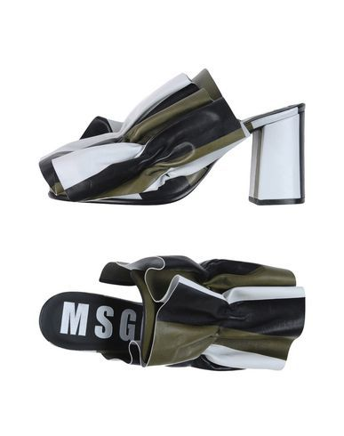 Chaussures - Mules Msgm q4xS8urKKb