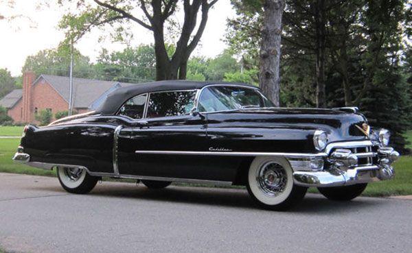1953 Cadillac Eldorado Convertible Oldsmobile Vehicle History