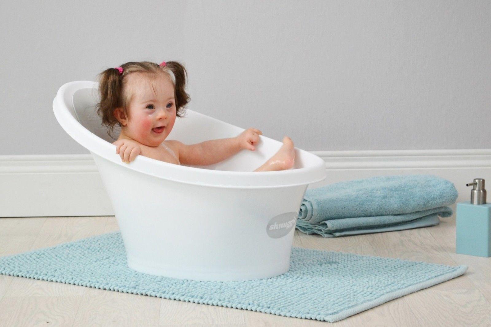 Shnuggle Baby Bath Tub - Compact Support Seat, Makes Bath Time Easy ...