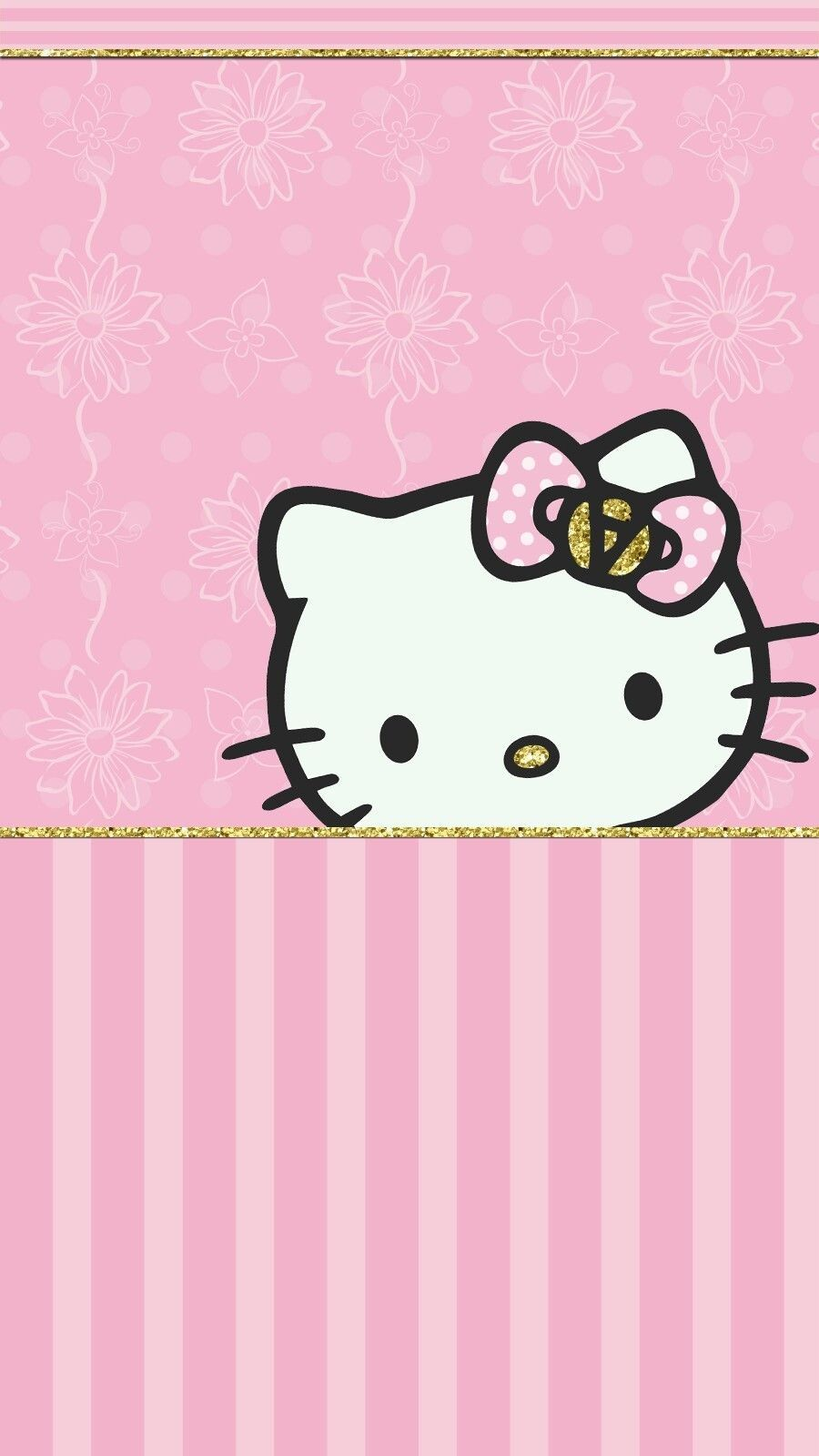 Hello Kitty Princess Pink Wallpaper Android Iphone Regarding Hello