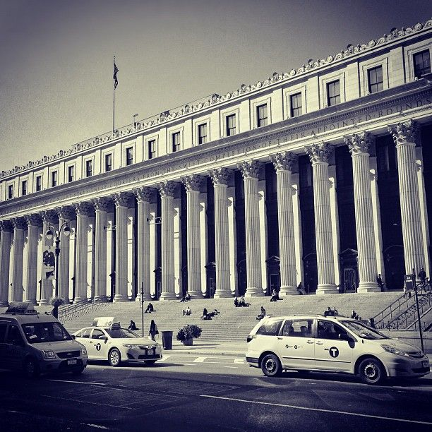 Main US Post Office in NYC at 34th Street -- the lobby areas are gorgeous!