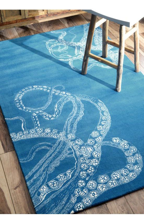 Featuring Rugs Usa S Octopus Rug Woven Of Wool With The