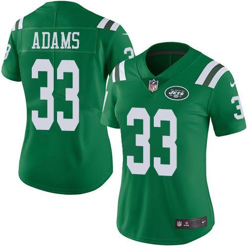 jamal adams jersey color rush