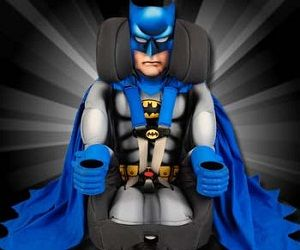 Kids Embrace Batman Deluxe Booster Seat The Combination Toddler Car Is Designed With Extended Use Five Point Harness And