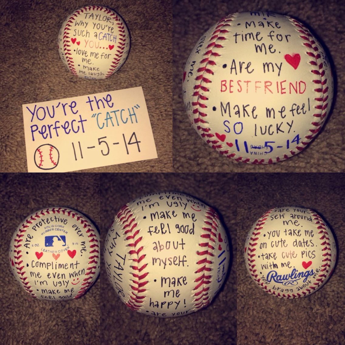 Gift Idea For Baseball Boyfriend Boyfriendanniversarygifts