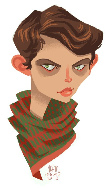 Adam Osgood - Robbie Kay as the evil Peter Pan fromOnce Upon A Time