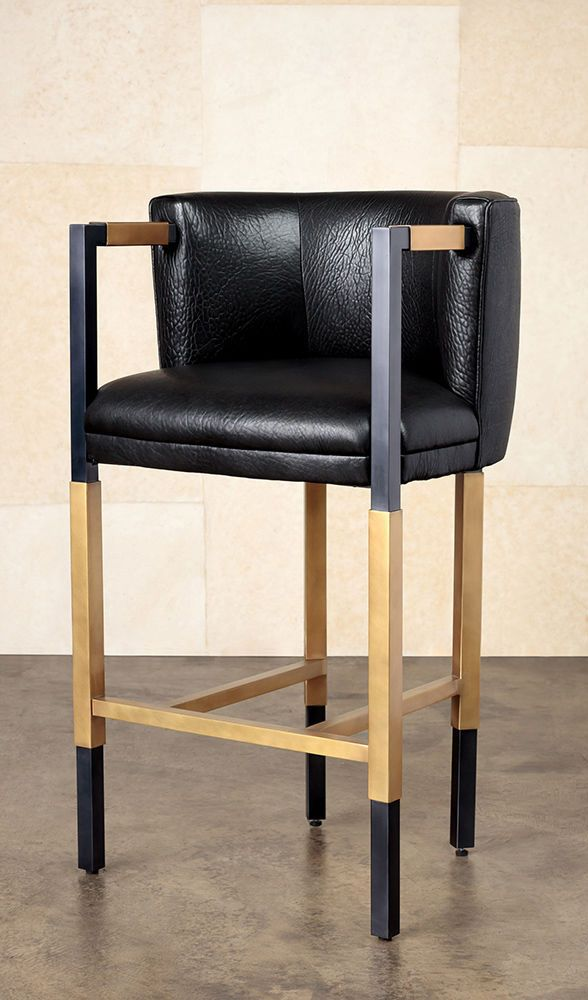 Outstanding Kelly Wearstler Larchmont Bar Stool A Boldly Elegant And Ncnpc Chair Design For Home Ncnpcorg