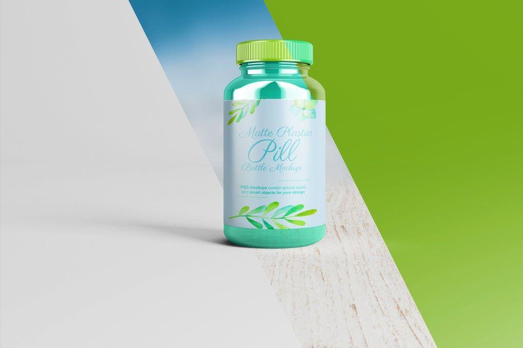 Download 25+ Stunning Pills Bottle Mockup PSD Templates   Bottle ... Free Mockups