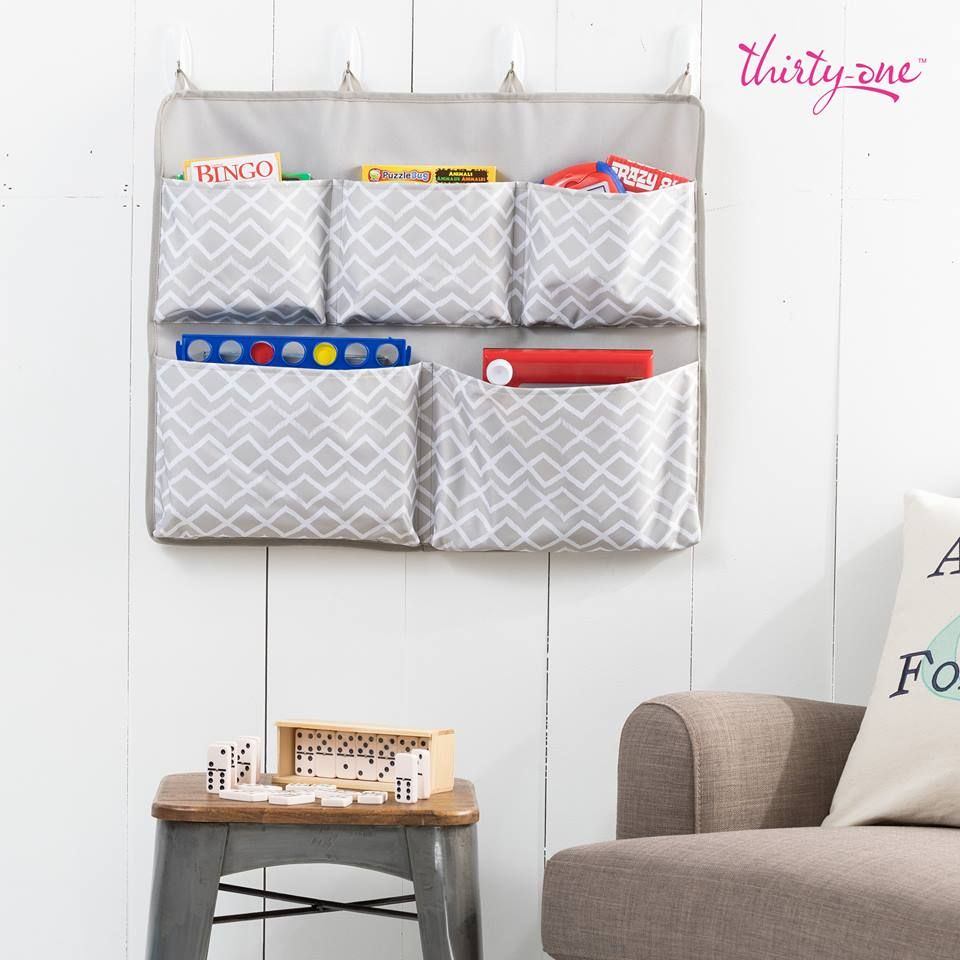 Thirty One Hang It Pocket Organizer Kids Room Organization Room
