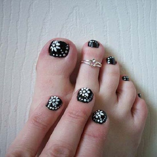 30 Black And White Nail Art Designs 2015 Naildesigns2015 Whitenails Blacknails