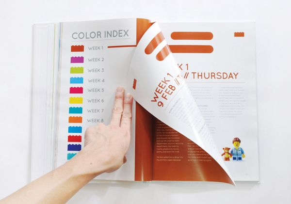 Internship Report Book By Alvin Edison Via Behance  Layout