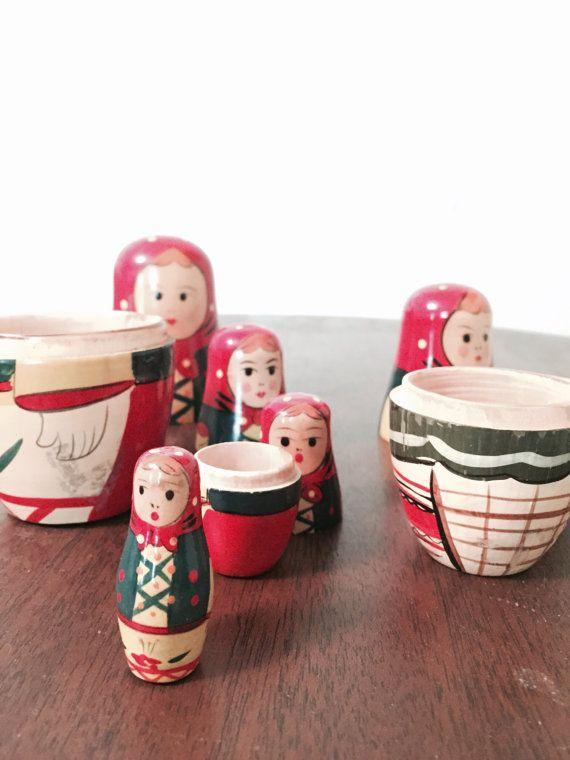 Dolls are hollow and nest inside of each other, smallest doll is solid  Fun gift or toy