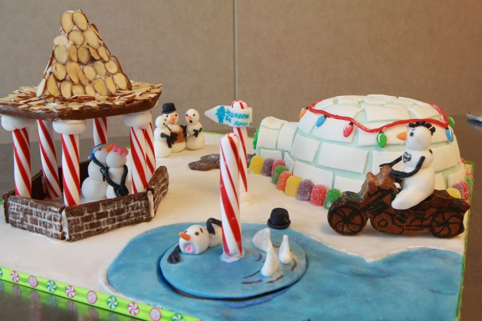 3rd place winner - Bonny Timblin  Gingerbread Scholarship Competition