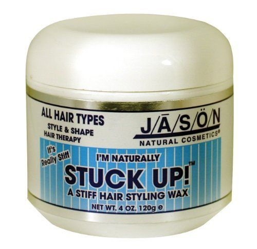 Jason Stuck-Up! (Hair Wax), 4-Ounce Jars (Pack of 2) by Jason. $29.99. The product is not eligible for priority shipping