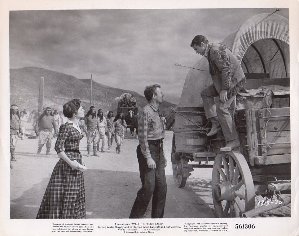 1815 Walk The Proud Land Universal Actors Universal Pictures Film Stars Movie Still Covered Wagon Universal Pictures Western Movie