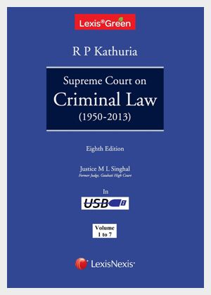 The book is a digest of all important and relevant cases of the Supreme Court on Criminal Law from 1950. Criminal law decisions have been thematically and alphabetically arranged and divided into 7 Volumes.