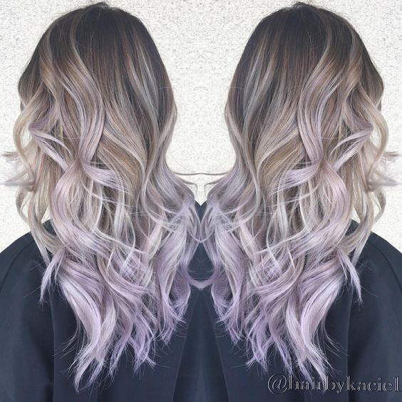 Image Result For Lilac Balayage Hair Light Purple Hair Lilac