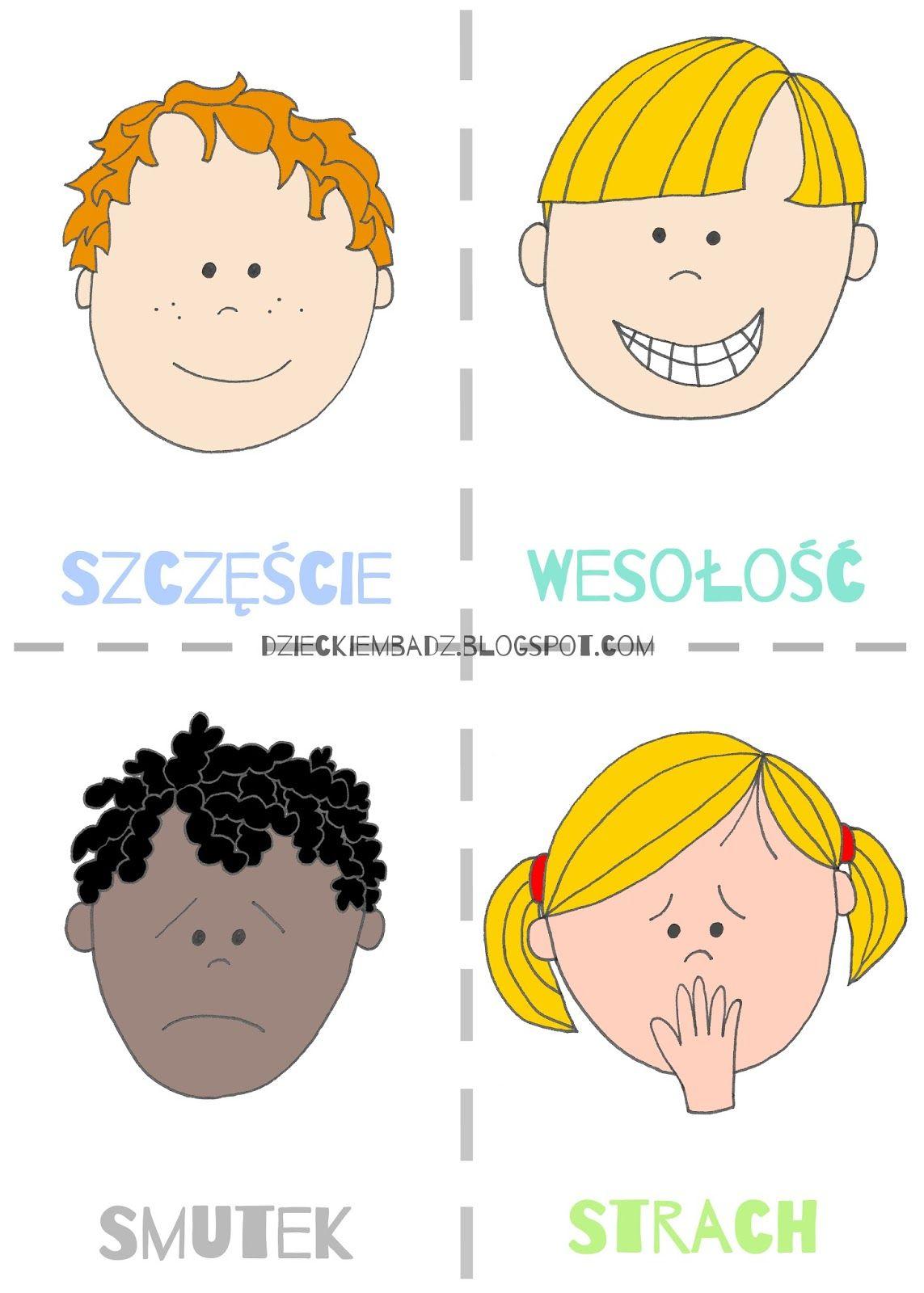 Emocje Dla Dzieci Zabawy Z Emocjami