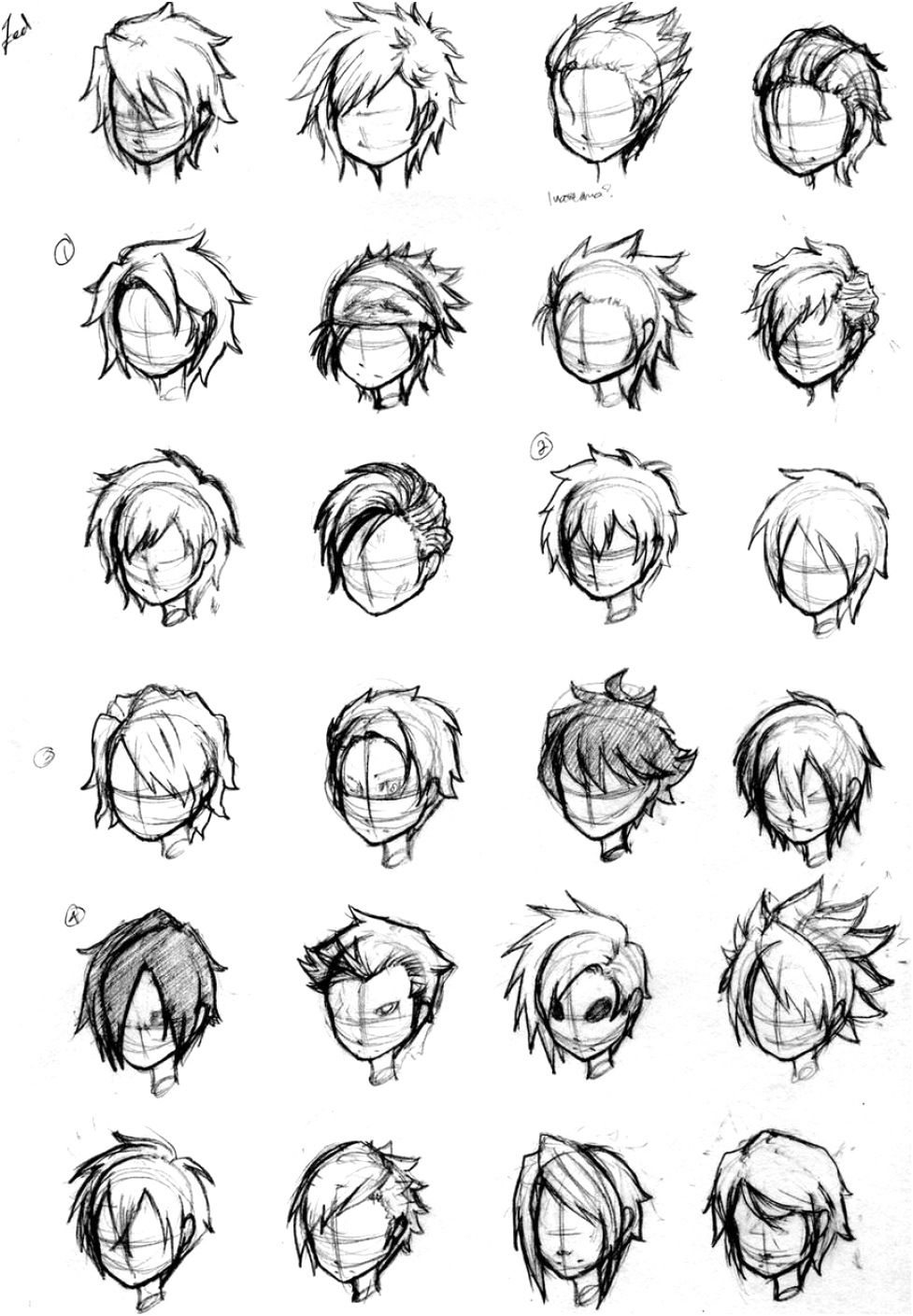Photo of Character Hair Concepts By Noveliaproductions On Deviantart