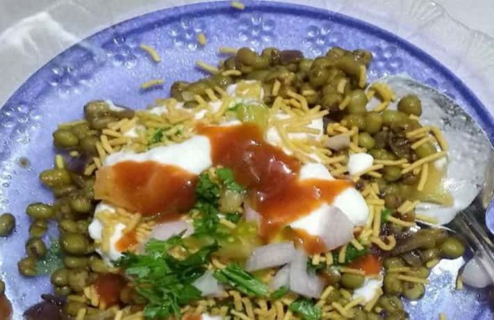 Moong dal chaat recipe recipe in hindi foods how to make moong dal chaat learn moong dal chaat recipe in hindi and veg forumfinder Images