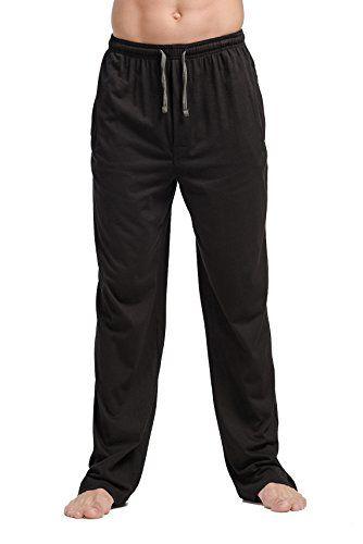 b241a941050 CYZ Men s 100% Cotton Jersey Knit Pajama Pants Lounge Pants-Black-XL -  Crazy By Deals discounts and bargains