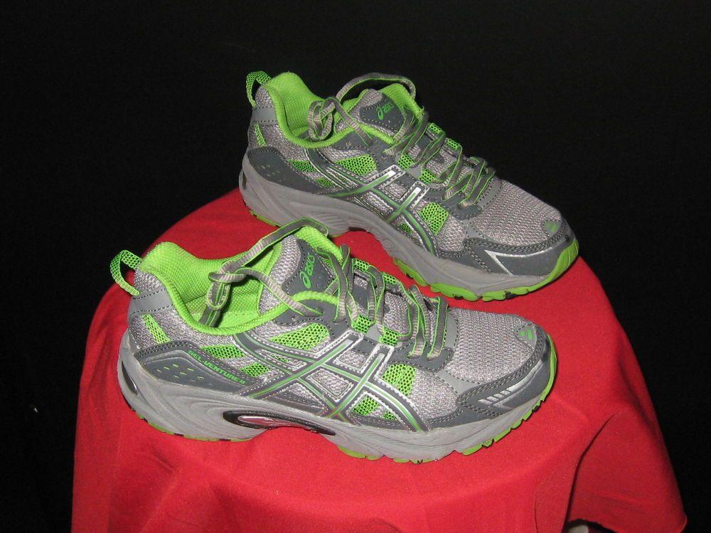 Femmes Asics Gel Venture course 4 Chaussures de course Taille Taille Asics 6 Gris/ Vert citron 321db7f - bokep21.site