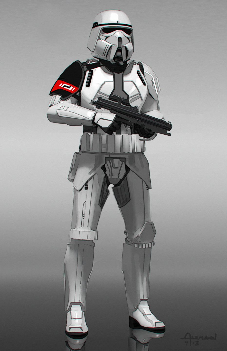 Get Lost In The Art Of Star Wars The Force Awakens Star Wars Vii Star Wars Images Star Wars Trooper
