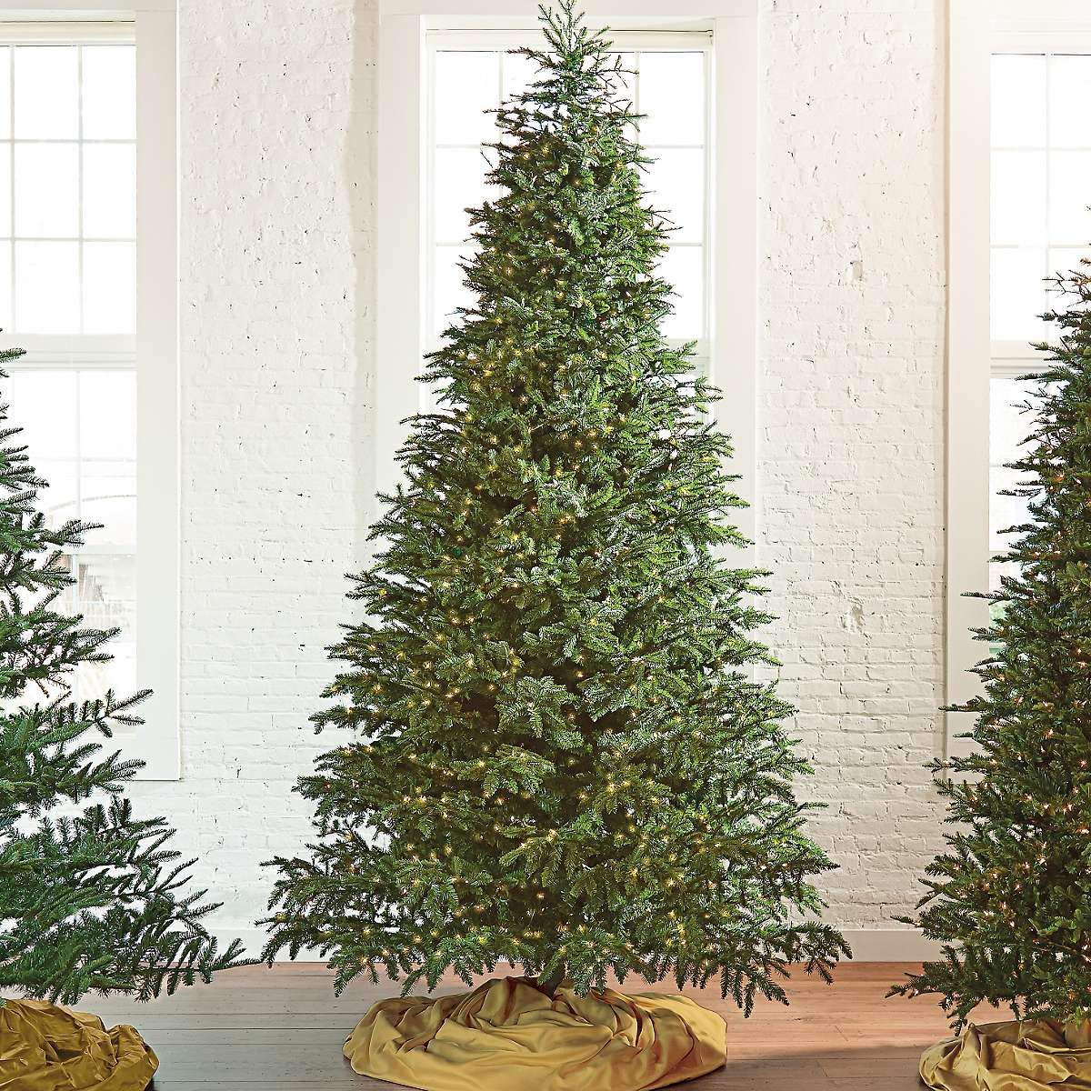 Grandin Road Christmas.Natural Fraser Fir Artificial Christmas Tree Grandin Road